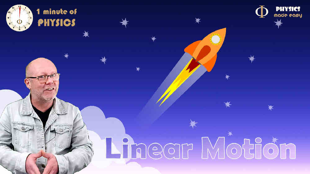 Solve linear motion problems in just 1 minute (Physics, mechanics)