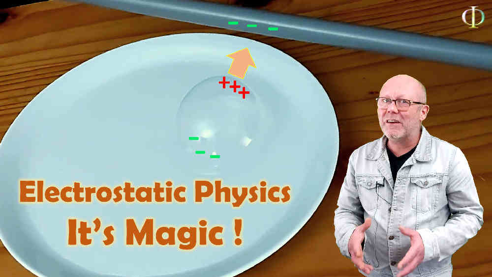 Electrostatics, it's magic! (High school physics, electricity)
