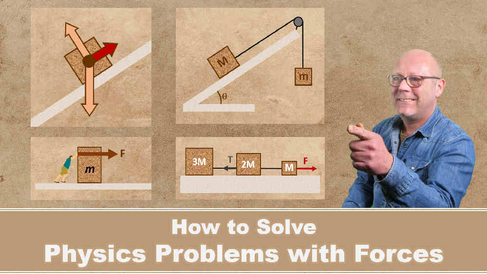 How to solve physics problems with forces?