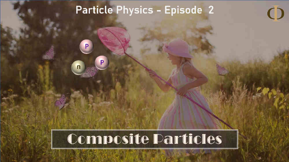 Hadrons, the composite particles (A lesson in particle physics)