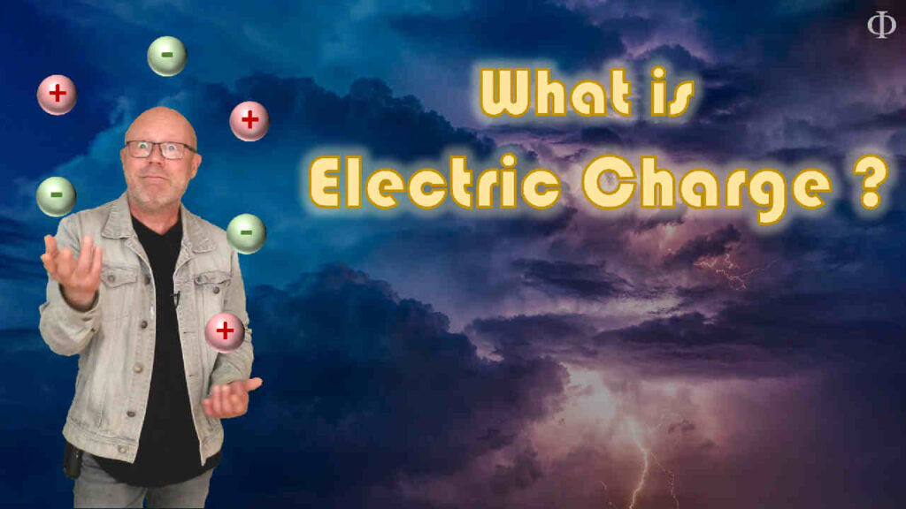 What is electric charge ? (high school physics)