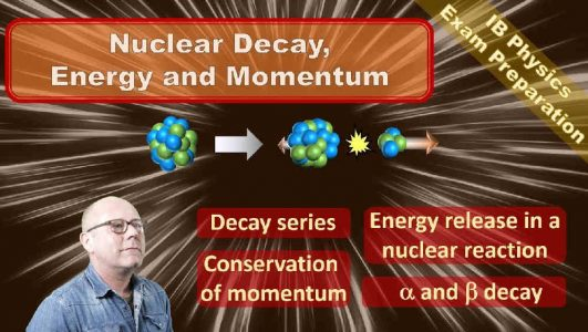 Momentum in a Nuclear Decay (High School Physics)