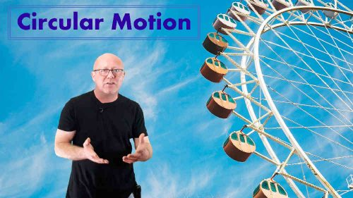 Circular Motion - online course on gravity; physics-made-easy.com